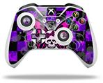 Skin Wrap for Microsoft XBOX One S / X Controller Butterfly Skull