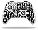Skull and Crossbones Pattern - Decal Style Skin fits Microsoft XBOX One X and One S Wireless Controller
