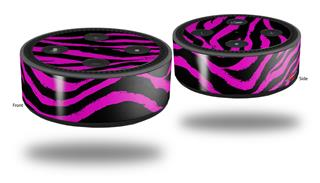 Skin Wrap Decal Set 2 Pack for Amazon Echo Dot 2 - Pink Zebra (2nd Generation ONLY - Echo NOT INCLUDED)