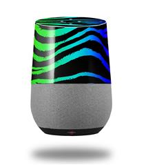 Decal Style Skin Wrap for Google Home Original - Rainbow Zebra (GOOGLE HOME NOT INCLUDED)