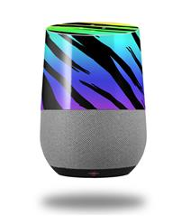 Decal Style Skin Wrap for Google Home Original - Tiger Rainbow (GOOGLE HOME NOT INCLUDED)