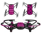 Skin Decal Wrap 2 Pack for DJI Ryze Tello Drone Pink Diamond DRONE NOT INCLUDED
