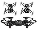 Skin Decal Wrap 2 Pack for DJI Ryze Tello Drone Monsters DRONE NOT INCLUDED