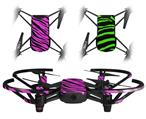 Skin Decal Wrap 2 Pack for DJI Ryze Tello Drone Pink Tiger DRONE NOT INCLUDED