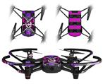 Skin Decal Wrap 2 Pack for DJI Ryze Tello Drone Butterfly Skull DRONE NOT INCLUDED