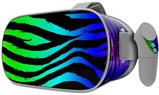 Decal style Skin Wrap compatible with Oculus Go Headset - Rainbow Zebra (OCULUS NOT INCLUDED)