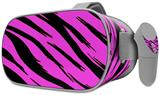 Decal style Skin Wrap compatible with Oculus Go Headset - Pink Tiger (OCULUS NOT INCLUDED)