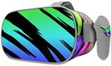 Decal style Skin Wrap compatible with Oculus Go Headset - Tiger Rainbow (OCULUS NOT INCLUDED)