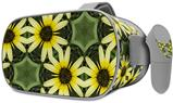 Decal style Skin Wrap compatible with Oculus Go Headset - Daisies Yellow (OCULUS NOT INCLUDED)