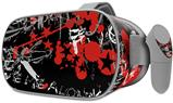 Decal style Skin Wrap compatible with Oculus Go Headset - Emo Graffiti (OCULUS NOT INCLUDED)