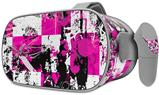Decal style Skin Wrap compatible with Oculus Go Headset - Pink Graffiti (OCULUS NOT INCLUDED)