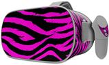 Decal style Skin Wrap compatible with Oculus Go Headset - Pink Zebra (OCULUS NOT INCLUDED)
