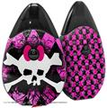 Skin Decal Wrap 2 Pack compatible with Suorin Drop Pink Diamond Skull VAPE NOT INCLUDED