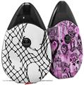 Skin Decal Wrap 2 Pack compatible with Suorin Drop Ripped Fishnets VAPE NOT INCLUDED