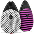 Skin Decal Wrap 2 Pack compatible with Suorin Drop Fishnets VAPE NOT INCLUDED