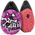Skin Decal Wrap 2 Pack compatible with Suorin Drop Punk Princess VAPE NOT INCLUDED