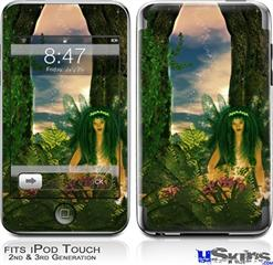 iPod Touch 2G & 3G Skin - Kathy Gold - Recharging Fairy 1