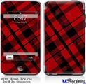 iPod Touch 2G & 3G Skin - Red Plaid