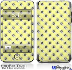 iPod Touch 2G & 3G Skin - Kearas Daisies Yellow