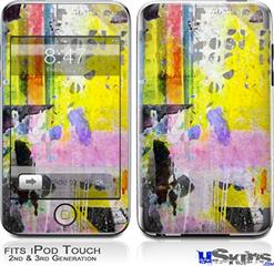 iPod Touch 2G & 3G Skin - Graffiti Pop