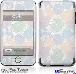 iPod Touch 2G & 3G Skin - Flowers Pattern 10