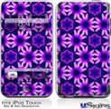 iPod Touch 2G & 3G Skin - Daisies Purple