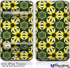 iPod Touch 2G & 3G Skin - Daisies Yellow