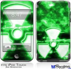 iPod Touch 2G & 3G Skin - RadioActive Green