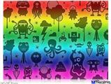 "Poster 24""x18"" - Cute Rainbow Monsters"