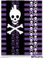 "Poster 18""x24"" - Skulls and Stripes 6"