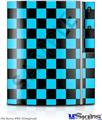 Sony PS3 Skin - Checkers Blue