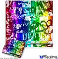Sony PS3 Slim Skin - Rainbow Graffiti