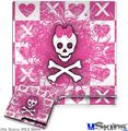 Sony PS3 Slim Decal Style Skin - Princess Skull