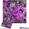 Sony PS3 Slim Skin - Butterfly Graffiti