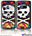 LG enV2 Skin - Rainbow Plaid Skull