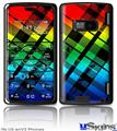 LG enV2 Skin - Rainbow Plaid