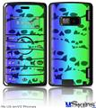 LG enV2 Skin - Rainbow Skull Collection