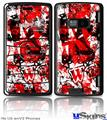 LG enV2 Skin - Red Graffiti