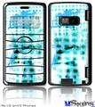 LG enV2 Skin - Electro Graffiti Blue