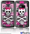 LG enV2 Skin - Princess Skull Heart