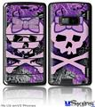 LG enV2 Skin - Purple Girly Skull