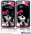 LG enV2 Skin - Scene Kid Girl Skull