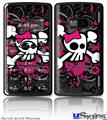 LG enV2 Skin - Girly Skull Bones