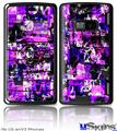 LG enV2 Skin - Purple Graffiti