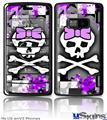 LG enV2 Skin - Purple Princess Skull