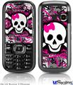 LG Rumor 2 Skin - Splatter Girly Skull