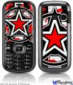 LG Rumor 2 Skin - Star Checker Splatter