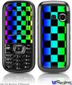 LG Rumor 2 Skin - Rainbow Checkerboard