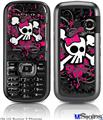 LG Rumor 2 Skin - Girly Skull Bones