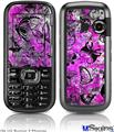 LG Rumor 2 Skin - Butterfly Graffiti